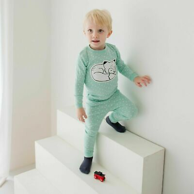 "Vaenait Baby Toddler Kids Boys Girls Clothes Pajamas Set ""Drawing Fox"" L(4-5T)"