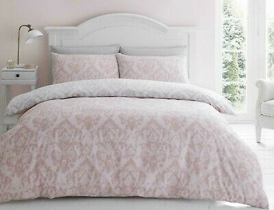 Royal Damask*Bk Single Platform Valence*Catherine Lansfield*Bed Linen*Brand New