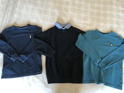 Boys Next Age 7 Clothes Bundle Jumpers X 3
