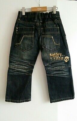 BNWT Next Signature Boys Coated Jeans Age 3 years