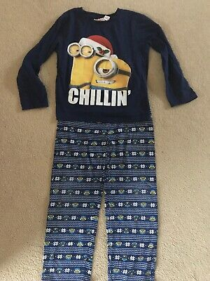 Primark Rebal Despicable Me Pyjamas Age 8-9