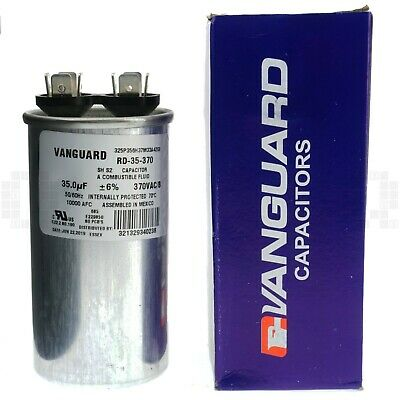 NEW LOT OF 2 OEIC WME-RS 35uF 370VAC 50//60 Hz MOTOR RUN CAPACITOR NO.190