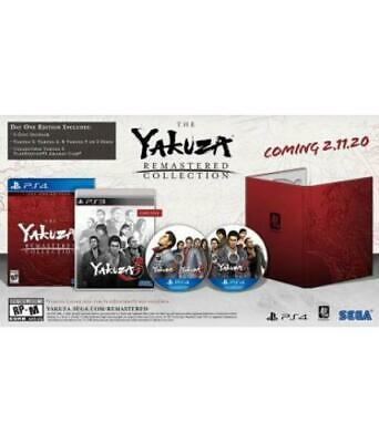 Yakuza Remastered Collection Day One Edition (PlayStation 4)