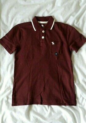 BNWT Abercrombie & Fitch Boys Polo Shirt Age 7-8 years