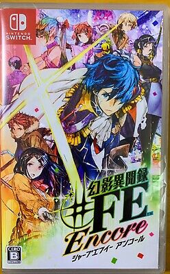 Tokyo Mirage Sessions ♯FE Nintendo Switch  role-playing HAC-P-ASA4A 2020 Japan