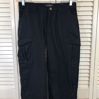 Tru Spec Womens Size 6 Black Tactical Rip Stop Cargo Pants NWOT  Police EMS FD