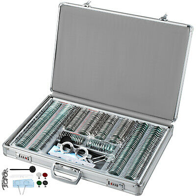 266pcs Trial Lens Kit Optometry Rim Optical Lens Optometry Test Trial Frame