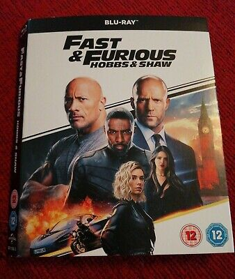 FAST AND FURIOUS HOBBS AND SHAW MOVIE POSTER Poster Print Art A1 A2 A3 ZZ072