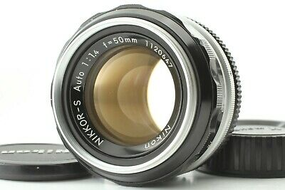 【EXC++++】 Nikon Nikkor-S Auto 50mm F/1.4 Ai Converted MF Lens From Japan