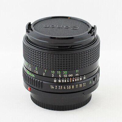 Canon FDn 50mm f/1.4 for Film or Adaptable to Mirrorless