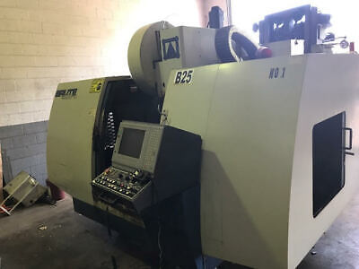 2001 BRUTE 4828 CNC Vertical Machining Center with Rotary Table - Cheap VMC