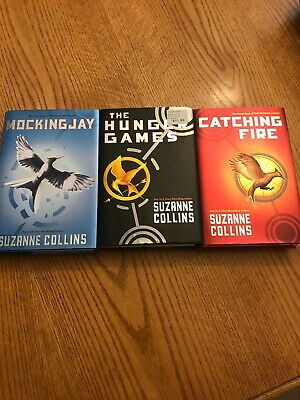 Hunger Games Trilogy BOOK SET 1 2 3 Mixed PB and Hardcovers Suzanne Collins