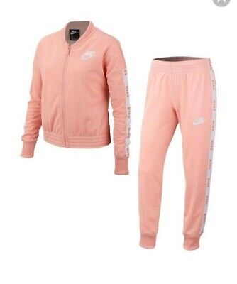 girls pink nike tracksuit, size is xl junior girls 13-15years. brand new.