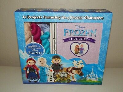 Disney Frozen Crochet by Kati Galusz ~ Everything you need to make Elsa & Anna