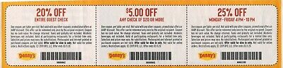 Denny's Coupons Expire 3/11/2020