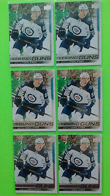 Lot Of 6 Upper Deck 2018-19 Young Guns Yg Rookie Rc Upick  ''' Pack Of 6 '''