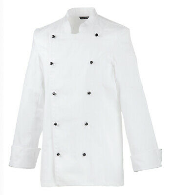 Exner Ladies Chef Jacket Bakers Jacket White Cotton