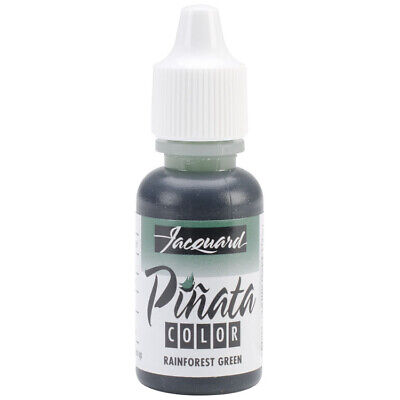 Jacquard Pinata Alcohol Ink (14ml) – Rainforest Green - 2wards Polymer Clay &...