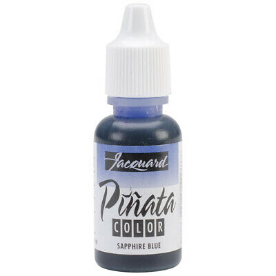Jacquard Pinata Alcohol Ink (14ml) – Sapphire Blue - 2wards Polymer Clay & Cr...