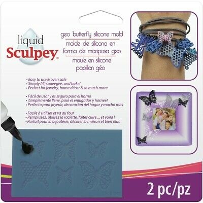Sculpey® Silicone Bakeable Mould – Geo Butterfly - 2wards Polymer Clay & Crafts