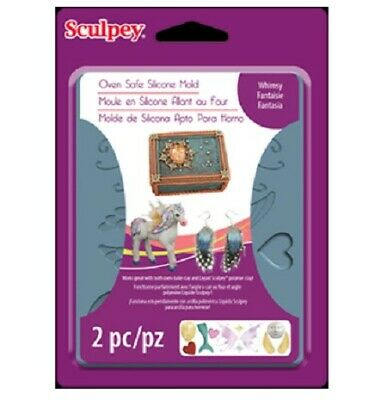 Sculpey Silicone Bakeable Mold - Whimsy - 2wards Polymer Clay & Crafts