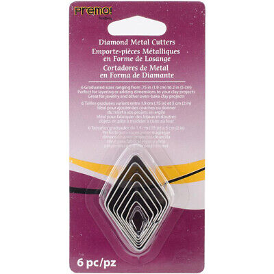 Premo Sculpey Cutter Set – Graduated Diamond Set - 2wards Polymer Clay & Crafts