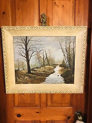 David C.Armstrong (1947-1998), Original Landscape, CDN Listed, 19.5 By 15.25in