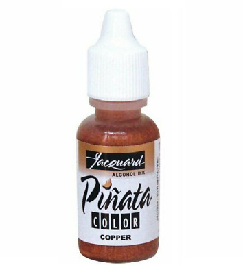 Jacquard Pinata Alcohol Ink (14ml) – Metallic Copper - 2wards Polymer Clay & ...