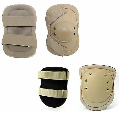 New Complete Set Of Military Knee & Elbow Pads Galls Brand Tan