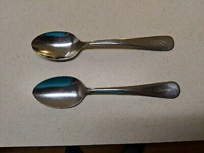 Vintage FORD MOTOR COMPANY Dining Stainless steel SPOON Thor Atlas Oneidacraft
