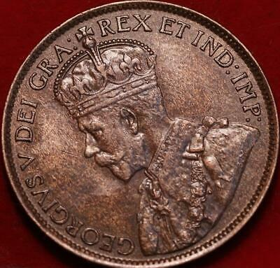 1913 Canada One Cent Foreign Coin