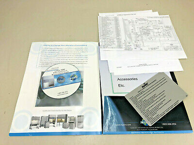Nuaire Labguard 425ES Safety Cabinet manuals and electrical schematics