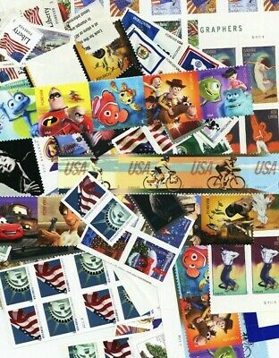 100 Mint Usable Forever Stamps - Selling at LESS than Face Value of $55.00 **
