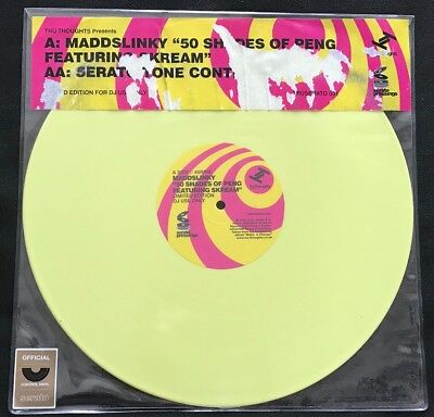 "Mad Slinky- Serato Pressings Official Control Vinyl 12"" Single"