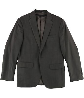 bar III Mens LS One Button Blazer Jacket, Brown, 38 Short