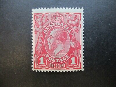 KGV Variety: 1d Red Mint - Great Item! Must Have (r118)