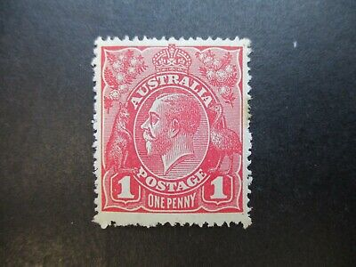 KGV Variety: 1d Red Mint - Great Item! Must Have (r120)