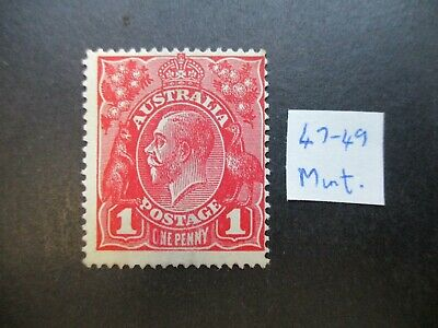 KGV Variety: 1d Red Mint - Great Item! Must Have (r108)