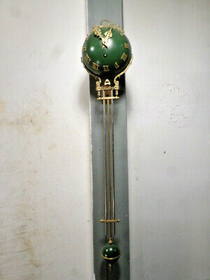 33 x 6 Inch French Style Syrian Green Mystery Swinger Clock Movement---Largest