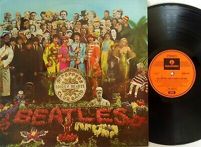 The Beatles-Sgt Pepper's Lonely Hearts Club Band LP Parlophone Oz-PCSO.7027 RARE