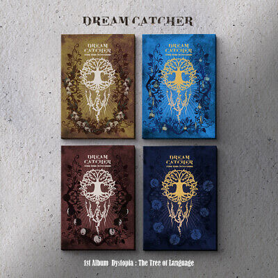 DREAMCATCHER - Dystopia:The Tree Of Language CD+3Photocards+Poster+Tracking no.