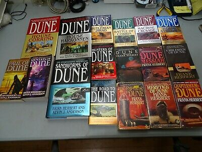 Kevin J. Anderson and Brian Herbert Dune series. Machine war trilogy