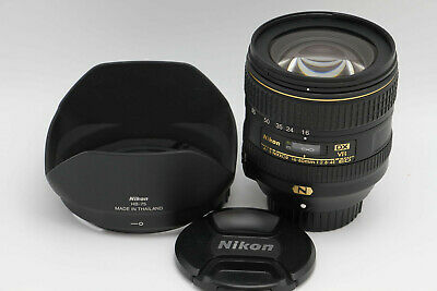 Nikon AF-S DX NIKKOR 16-80mm f/2.8-4E ED VR Lens USA Version Mint+