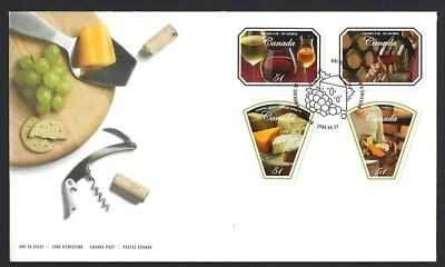 Canada    # 2168 - 2171    CANADIAN WINE & CHEESE       New 2006 Unaddressed
