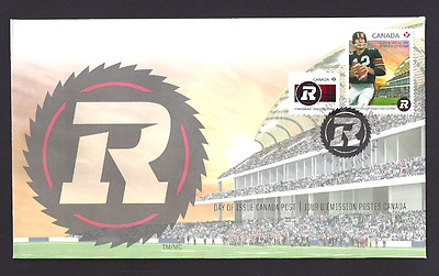 Canada    # 2754 - 2755           OTTAWA REDBLACKS        New  2014 Unaddressed