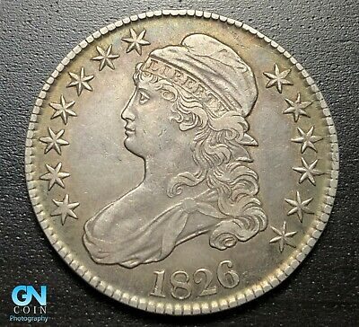 1826 Capped Bust Half Dollar  --  MAKE US AN OFFER!  #P6885