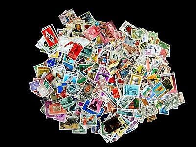Worldwide,1000 all different, off paper, U & M/Fine, nice variety, most commemor