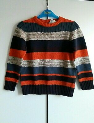 BNWT Next Boys Striped Jumper Age 4-5 years