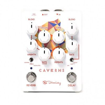 Keeley Caverns Reverb And Delay Electric Guitar Pedal NEW