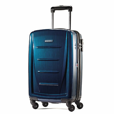 "NEW 2019 Samsonite Winfield 2 Fashion 24"" Spinner Luggage - Deep Blue"